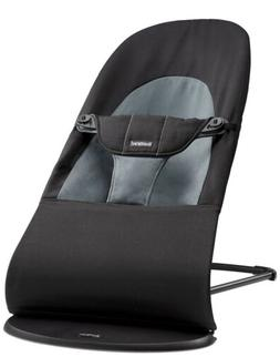 NEW Baby Bjorn Bouncer Balance Soft Cotton Black-Dark Gray