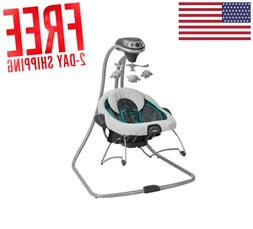 NEW Graco Baby Swing and Reclining Infant Bouncer Rocker Plu