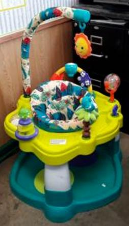 New Baby Toddler Bouncer Activity Center Jumper Rotating Sea