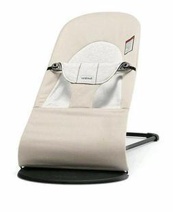 NEW BABYBJORN Baby Bjorn Bouncer Balance Soft - Grey/Beige C