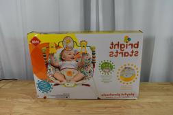 New - Bright Starts Bouncer Seat - Playful Pinwheels Baby Bo