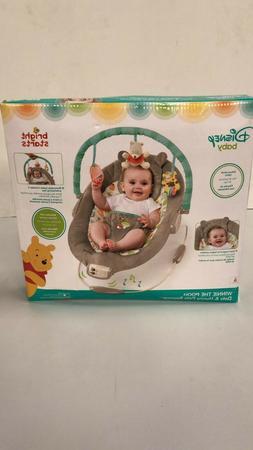 NEW!! Bright Starts Disney Baby -Winnie The Pooh Dots & Hunn