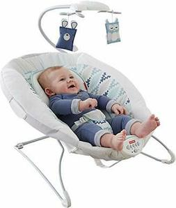 NEW FISHER PRICE WOODSY WONDERS DELUXE BOUNCER