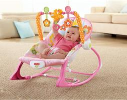 New Infant-to-Toddler Vibrating Chair Sleeper Bouncer For Ne
