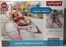 New Infant Toddler Rocker Bouncer Baby Seat Swing Chair Slee