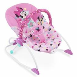 NEW  Minnie Mouse Baby Infant Bouncer Rocker Pink