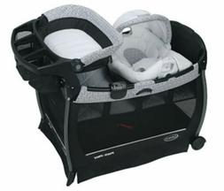 Graco Pack n Play Playard Playpens with Bassinet Infant Boun