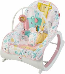 Pink Infant to Toddler Rocker Bouncer Seat Baby Chair Sleepe
