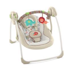 Portable Swing Baby Rocker Infant Cradle Bouncer Seat 6 Swin