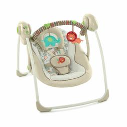 Portable Baby Swing Cozy Kingdom with Deluxe seat and 6 Orig