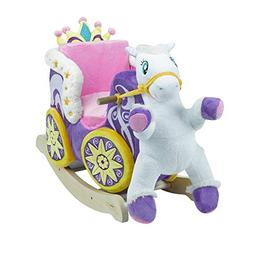 Princess Carriage Play and Rock   Horse Plush Butterfly Baby