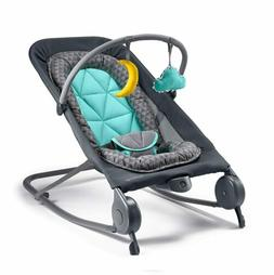 Removable Baby Bouncer and Baby Rocker Toys with Soothing Vi