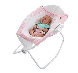 Fisher Price Newborn Rock n Play Sleeper, Pink Ellipse