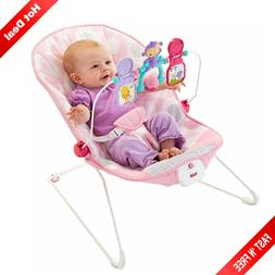 rocker chair pink seat newborn infant toddler