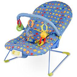 Costzon Baby Rocker Chair, Adjustable Reclining Chair with M