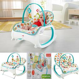 Rocker Seat Bouncer Swing Vibrating Chair Infant to Toddler