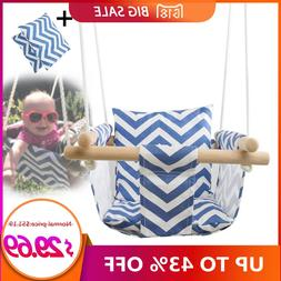 Safety Kindergarten <font><b>Baby</b></font> Canvas Swing Ha