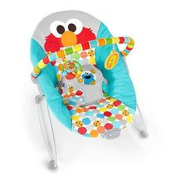 Sesame Street Elmo Baby Bouncer Infant Vibrating with Toy Ba