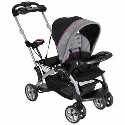 Baby Trend Sit And Stand Stroller Infant + Toddler Double Tr