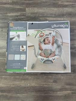 Ingenuity SmartBounce Automatic Bouncer New Gray Toy Bar 2 s