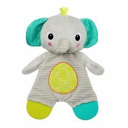 Bright Starts Snuggle and Teethe Plush Teether Elephant Monk