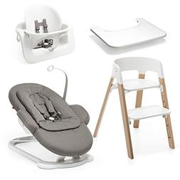 Stokke Steps All-in-One Set, Natural/Greige