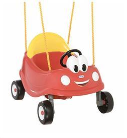 swing set red car toddler