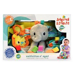 NEW Bright Starts Tags 'n Activities Gift Set, LOVEY- TEETHI