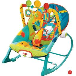 Baby Rocker Chair Newborn Infant Toddler Rocking Bunting Swi
