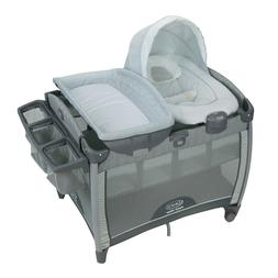 Graco Unisex Pack 'n Play Portable Quick Connect Bouncer Pla