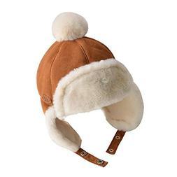 Children's Warm Winter Thick Kids Hat 1-3 Years Old Baby Bab
