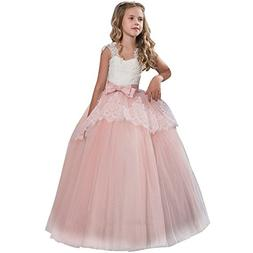 Londony Wedding Party Flower Dresses, Girls Princess Pageant