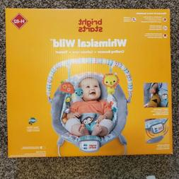 Bright Starts Whimsical Wild Cradling Baby Bouncer Soothing