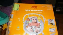 Bright Starts Whimsical Wild Cradling Bouncer Seat Soothing