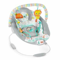 Bright Starts Whimsical Wild Cradling Bouncer Seat with Soot