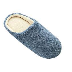 COPPEN Women Warm Slippers Home Plush Soft Indoors?Anti-Slip