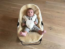 Bloom Wool Seat Liner for Coco Stylewood & Coco Go Baby Loun